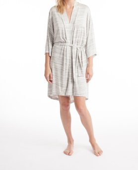 "Maison du Soir Knit ""Florence"" Robe in Space Dye I 9 Robes to Get Wrapped Up in This Fall, & Where We'd Wear Them I {un}covered"