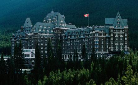 Fairmont Banff Springs, Canada Exterior I 8 of the World's Most Hauntingly Beautiful Hotels...Literally I {un}covered