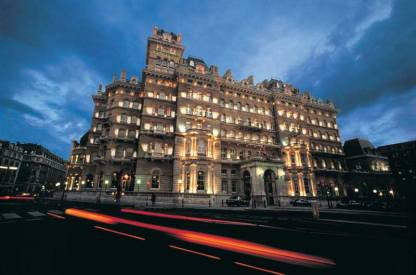 Langham Hotel, London Exterior I 8 of the World's Most Hauntingly Beautiful Hotels...Literally I {un}covered