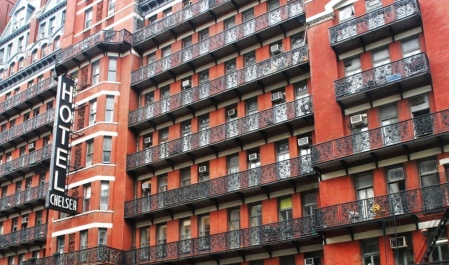 Hotel Chelsea, New York Exterior I 8 of the World's Most Hauntingly Beautiful Hotels...Literally I {un}covered