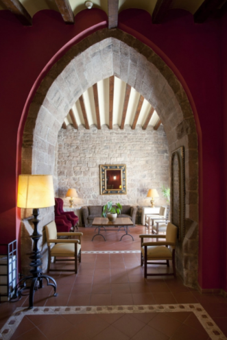 Parador de Cardona, Spain Interior I 8 of the World's Most Hauntingly Beautiful Hotels...Literally I {un}covered