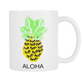 Kiss & Wear Aloha Mug I Holiday Gift Guide: 25 Perfect Picks For the Beach Babe I {un}covered