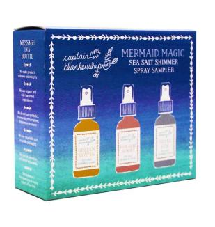 Captain Blankenship Mermaid Magic Sea Salt Shimmer Spray Sampler I Holiday Gift Guide: 25 Perfect Picks For the Beach Babe I {un}covered