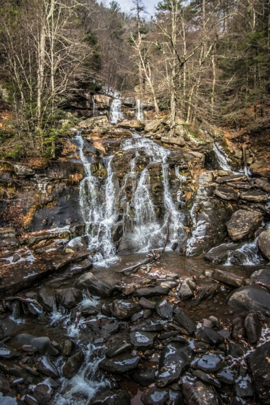 Kaaterskill Falls I Photo credit Alberto Lama forThe Wander Life I Catskills Travel Guide: A Wintry Weekend Escape From NYC