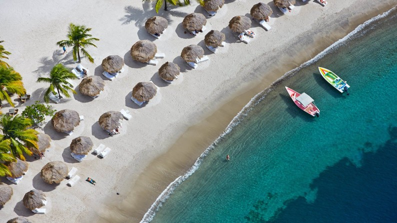 Sugar Beach Viceroy Resort, St. Lucia I 20 Questions With: Booty Parlor Founder-Turned-Beach Babe Dana Myers