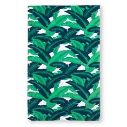 "Bed Bath & Beyond 34"" x 64"" Palm Leaves Beach Towel I 18 Stylish, Oversized Beach Towels For Spreading Out This Summer I {un}covered"
