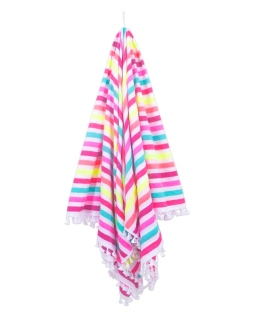 """Las Bayadas 72"""" x 84"""" La Teri Beach Blanket I 18 Stylish, Oversized Beach Towels For Spreading Out This Summer I {un}covered"""
