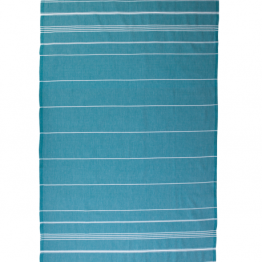 "Lazy Mosquito 40"" x 75"" The Classicer Towel in Turquoise I 18 Stylish, Oversized Beach Towels For Spreading Out This Summer I {un}covered"