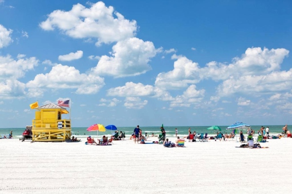 Siesta Beach, Siesta Key, Florida I These Are the Top 15 Beaches in the World Right Now, According to TripAdvisor I {un}covered 2017