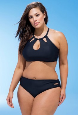 Swimsuitsforall Debutante Black Bikini Set in Black I 15 Trés Chic Little Black Bikinis Under $100 I {un}covered