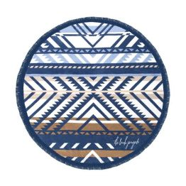 """The Beach People 60"""" Lorne Round Towel I 18 Stylish, Oversized Beach Towels For Spreading Out This Summer I {un}covered"""