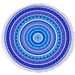 """Xueller 60"""" Juju Round Towel I 18 Stylish, Oversized Beach Towels For Spreading Out This Summer I {un}covered"""