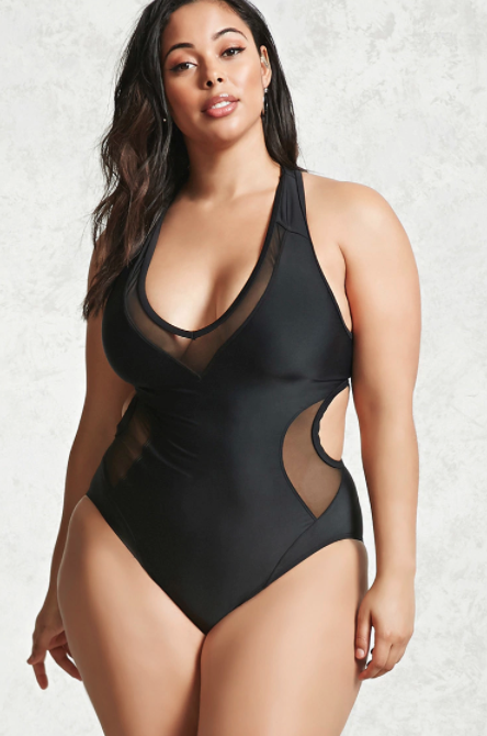 Forever21 I 15 Stylish One-Piece Swimsuits to Flatter Every Body I {un}covered