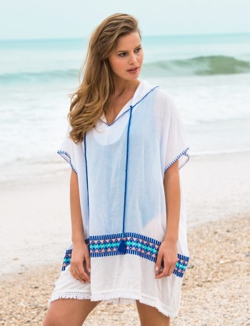 Cabana Life Bora Bora Embroidered Cover Up I The Edit: What to Pack For Your Trip to Indonesia's Komodo Island I The Wander Life