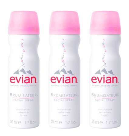 evian Natural Mineral Water Facial Spray Trio, 1.7 oz. TSA-Approved Travel Size (3 pack) I The Edit: What to Pack For Your Trip to Indonesia's Komodo Island I The Wander Life