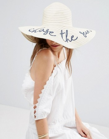 ASOS 'Chase the Sun' Oversized Floppy Straw Hat I The Edit: What to Pack For Your Trip to Indonesia's Komodo Island I The Wander Life