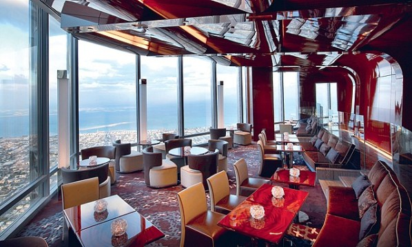 At.mosphere in the Burj Khalifa, Dubai, UAE I Cocktails in the Clouds: These Are the Most Jaw-Dropping Sky Bars Around the World I The Wander Life