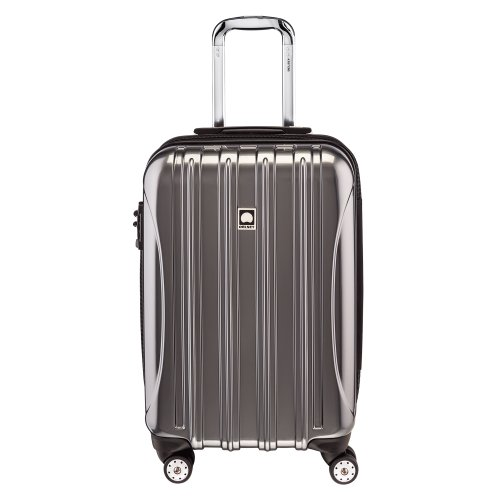Delsey Luggage Helium Aero 19 Inch Carry-On Spinner Trolley in Titanium I These Are the Best TSA Compliant Carry-Ons You Can Buy Right Now, According to Amazon Reviews I The Wander Life