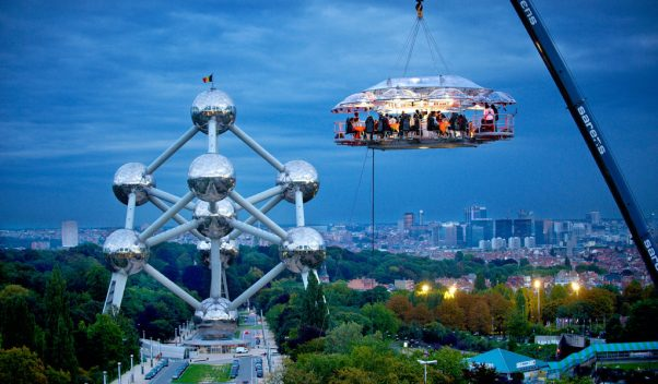 Dinner in the Sky, Worldwide I Cocktails in the Clouds: These Are the Most Jaw-Dropping Sky Bars Around the World I The Wander Life
