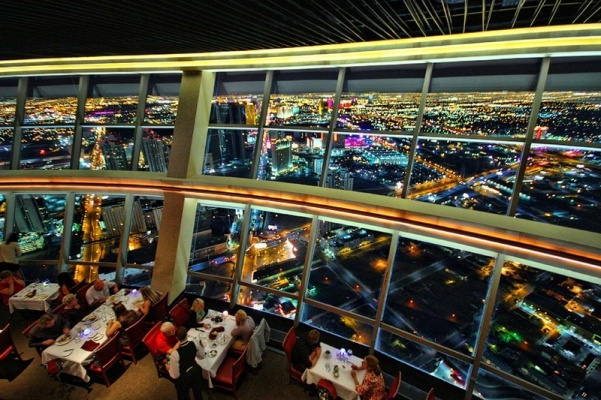 Level 107 at Stratosphere Tower, Las Vegas, Nevada I Cocktails in the Clouds: These Are the Most Jaw-Dropping Sky Bars Around the World I The Wander Life