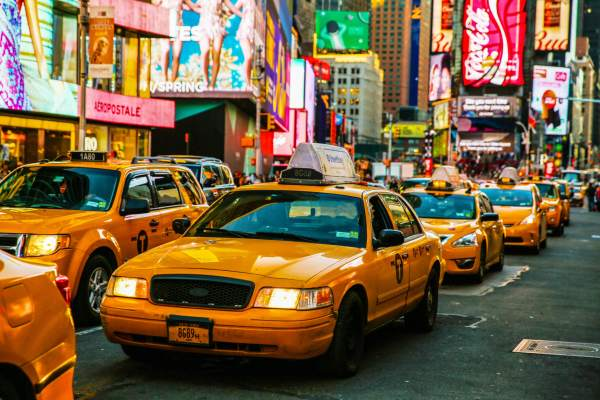 New York Taxi Cab I Here's How Much You Will Pay For a Taxi Ride in 80 Cities Worldwide I The Wander Life