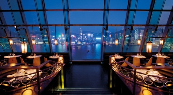 Ozone Bar, Hong Kong, China I Cocktails in the Clouds: These Are the Most Jaw-Dropping Sky Bars Around the World I The Wander Life