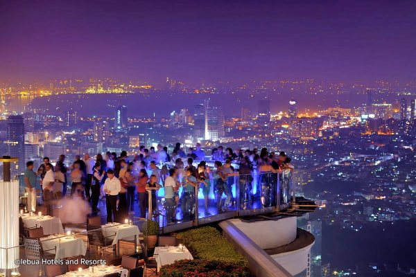 Sky Bar, Bangkok, Thailand I Cocktails in the Clouds: These Are the Most Jaw-Dropping Sky Bars Around the World I The Wander Life