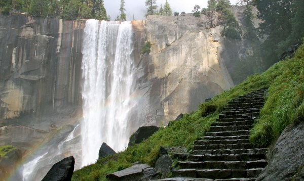 Vernal and Nevada Falls via The Mist Trail, Yosemite National Park, California I 10 U.S. Hikes With The Most Spectacular, Panoramic Views I The Wander Life