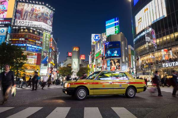 Tokyo Taxi Cab I Here's How Much You Will Pay For a Taxi Ride in 80 Cities Worldwide I The Wander Life