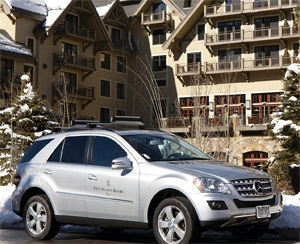Mercedes Benz - Four Seasons Vail Partnership I These Hotels Are Offering Guests the Ultimate Joyride by Passing the Keys to Luxury Cars I The Wander Life