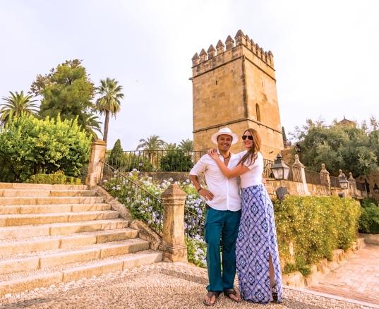 Alberto & Lauren Lama in Sevilla, Spain / @travelinglamas