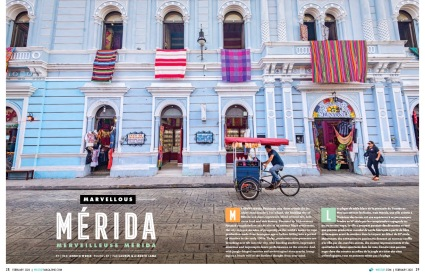 Mérida Bound: See Our Cover Story in WestJet Magazine's Feb 2020 Issue! Photography by @travelinglamas