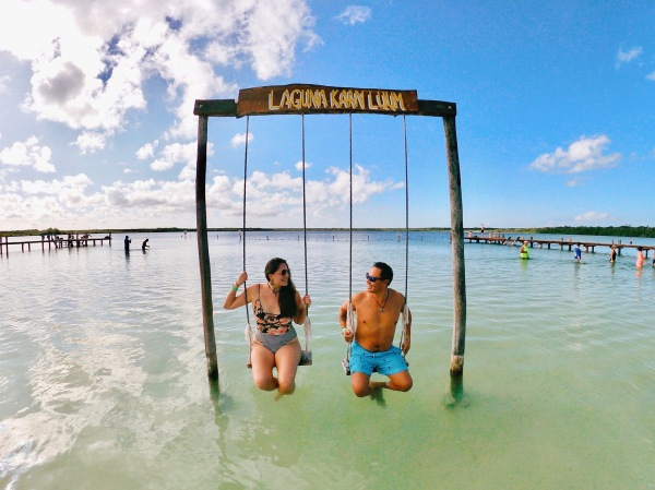 How to Visit Kaan Luum Lagoon: A Hidden Oasis in Tulum, Mexico / Traveling Lamas / photo by @foot_and_flight