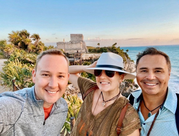 How to Visit The Tulum Ruins at Sunrise (And Have Them All to Yourself!) / Traveling Lamas / photo by@travelinglamas