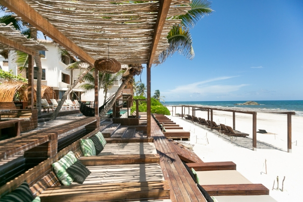 Your Ultimate Guide to Tulum's Best Beach Clubs in 2020 (Post-Lockdown) / TravelingLamas.com / Photo courtesy of Amansala