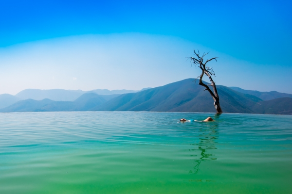 Magical Hierve el Agua in Oaxaca, Mexico / Travel Photography by @travelinglamas