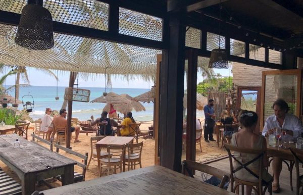 Your Ultimate Guide to Tulum's Best Beach Clubs in 2020 (Post-Lockdown) / TravelingLamas.com / Photo courtesy of MINA