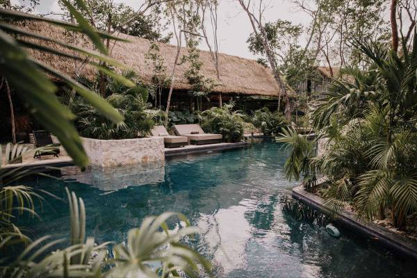 Your Ultimate Guide to Tulum's Best Beach Clubs in 2020 (Post-Lockdown) / TravelingLamas.com / Photo courtesy of Hotel Bardo