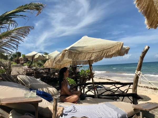 Your Ultimate Guide to Tulum's Best Beach Clubs in 2020 (Post-Lockdown) / TravelingLamas.com / Photo by@travelinglamas