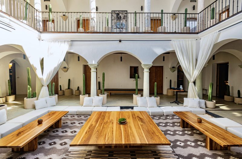 Where to Stay in Oaxaca City: The Best Boutique Hotels in Oaxaca City to Check Into Now (December 2020) / TravelingLamas.com / Photo by @travelinglamas