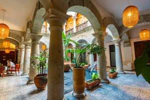 Where to Stay in Oaxaca City: The Best Boutique Hotels in Oaxaca City to Check Into Now (December 2020)/ Casa Antonieta / TravelingLamas.com / Photo by @travelinglamas