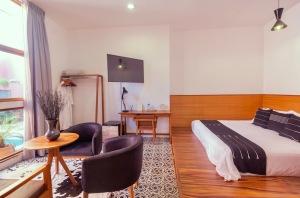 Where to Stay in Oaxaca City: The Best Boutique Hotels in Oaxaca City to Check Into Now (December 2020)/Casa Antonieta/ TravelingLamas.com /Photo courtesy of Casa Antonieta