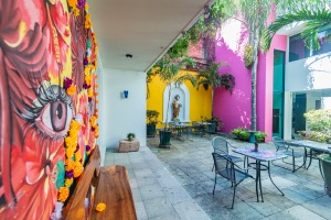 Where to Stay in Oaxaca City: The Best Boutique Hotels in Oaxaca City to Check Into Now (December 2020)/Casa de las Bugambilias/ TravelingLamas.com / Photo by @travelinglamas