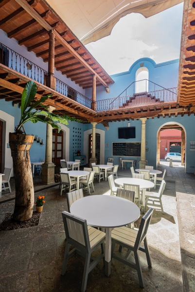 Where to Stay in Oaxaca City: The Best Boutique Hotels in Oaxaca City to Check Into Now (December 2020) / Hotel Azul / TravelingLamas.com / Photo by @travelinglamas