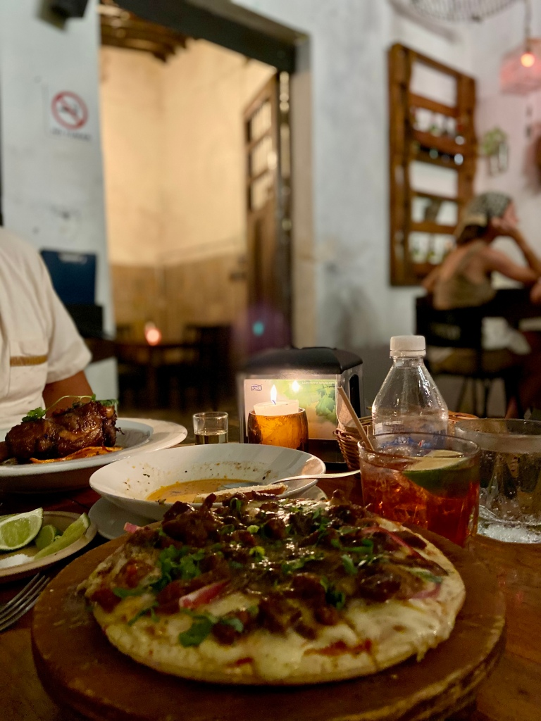 Everything You Need to Know About Visiting Bohemian Valladolid, Yucatán: a 2021 Travel Guide / Cafeina + Mezcaleria Don Trejo / The Lama List / Photo by TheLamaList.com & @travelinglamas